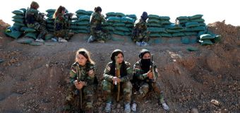 A Band of Sisters Bond to Combat Militants in Northern Iraq