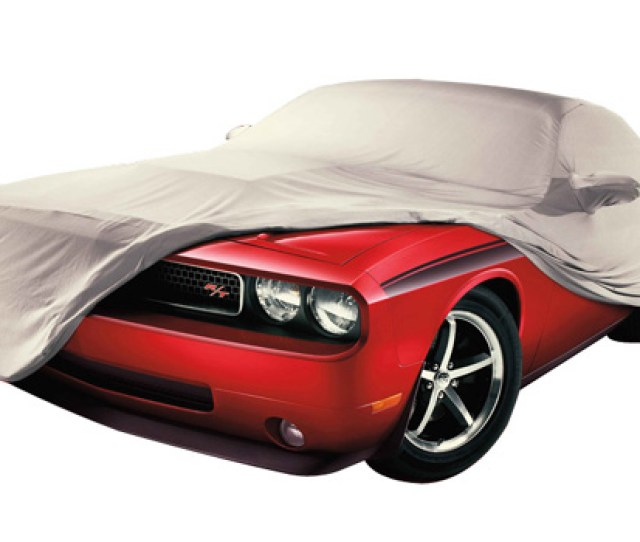 Mopar Oem Car Cover With Challenger Logo 08 Up Challenger