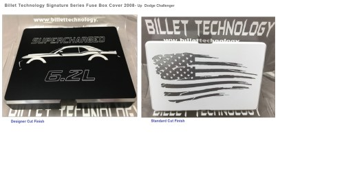 small resolution of billet technology fuse box cover 08 14 dodge challenger billetbillet technology fuse box cover 08 14
