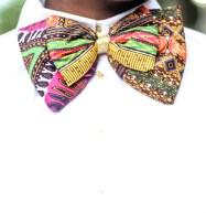 3reeCs African Print Ankara Bow Ties
