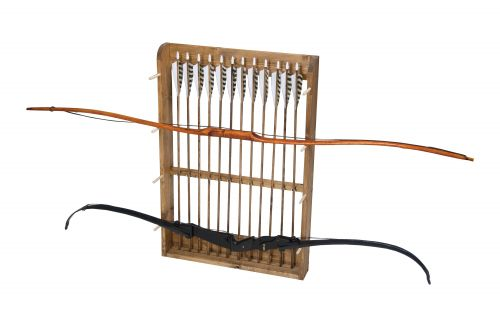 bow arrow rack kit