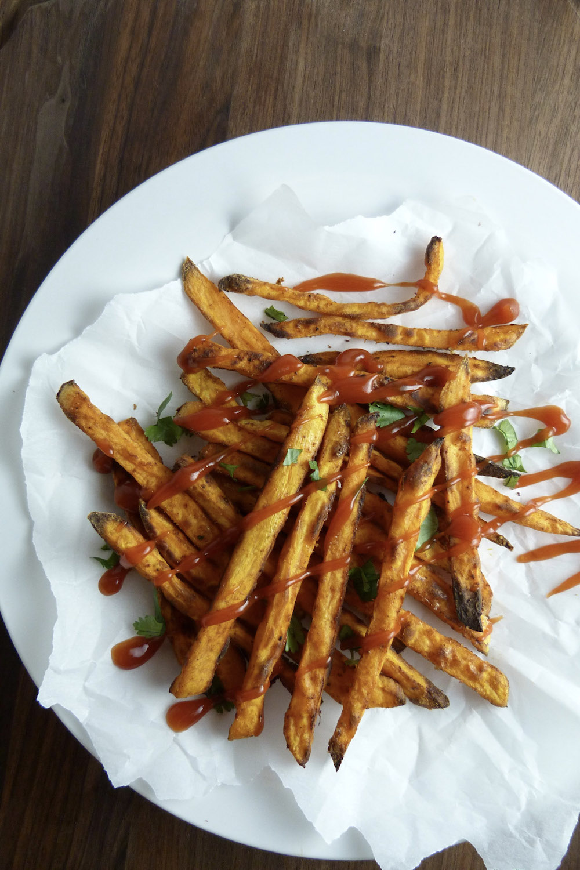 Fast Food Restaurants Sweet Potato Fries