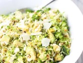 brussels sprout and broccoli salad