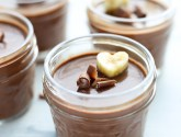 vegan dark chocolate espresso mousse