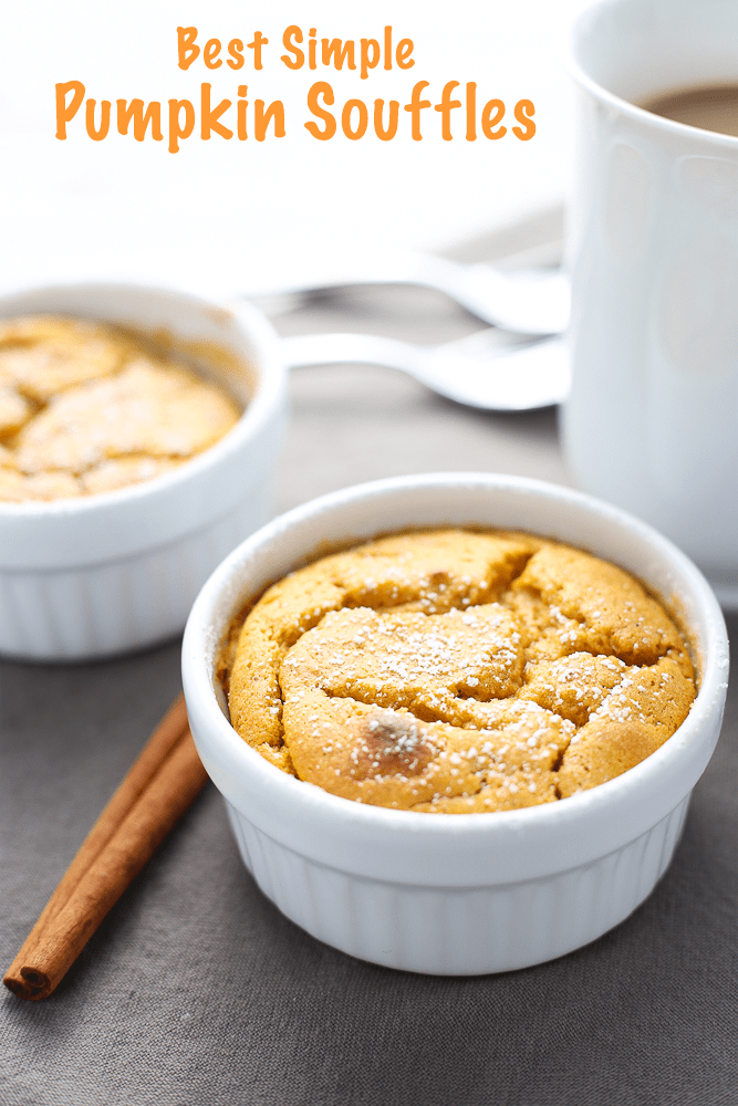 best simple pumpkin souffles