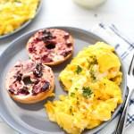 Holiday Morning Scrambled Eggs