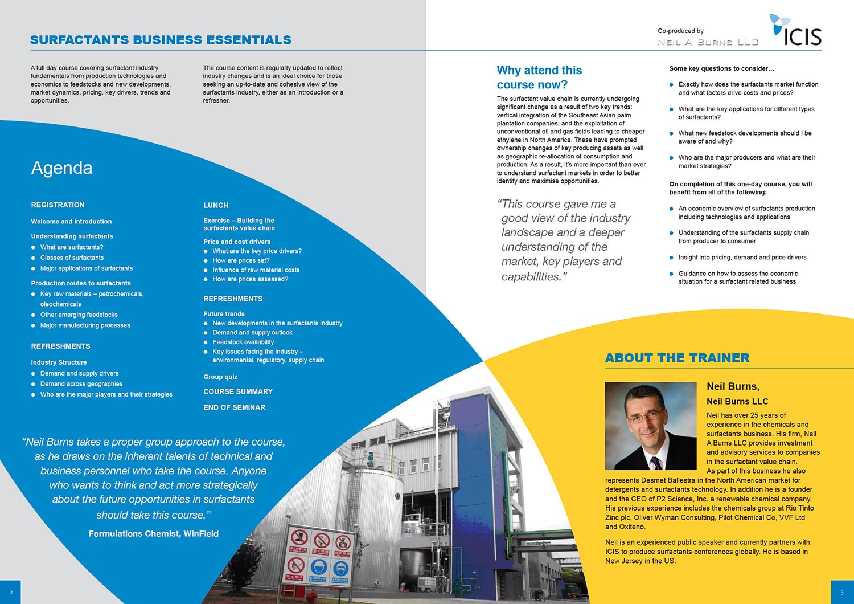 Icis Training Course Brochures 3sixty Creative