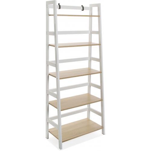 meuble de rangement d angle 5 etageres