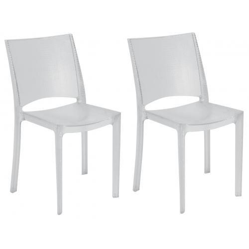 chaises transparentes alessi