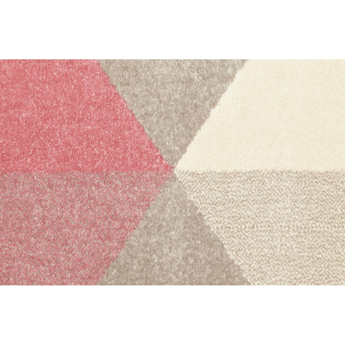 tapis rose 160x230x1 cm big 3 suisses