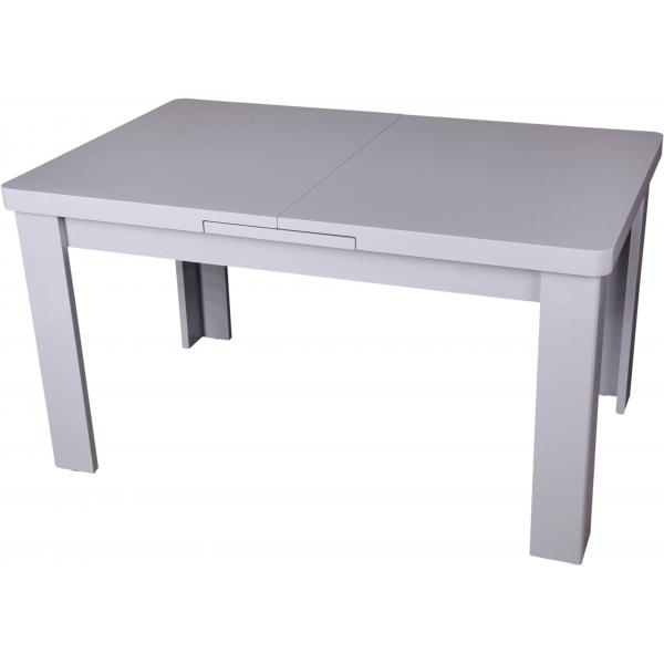 table a manger extensible grise maeva