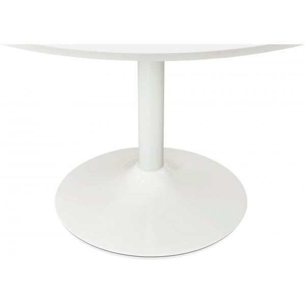 table ronde bois blanche d90 zirtec