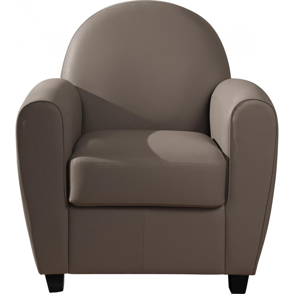 fauteuil club taupe libby 3 suisses