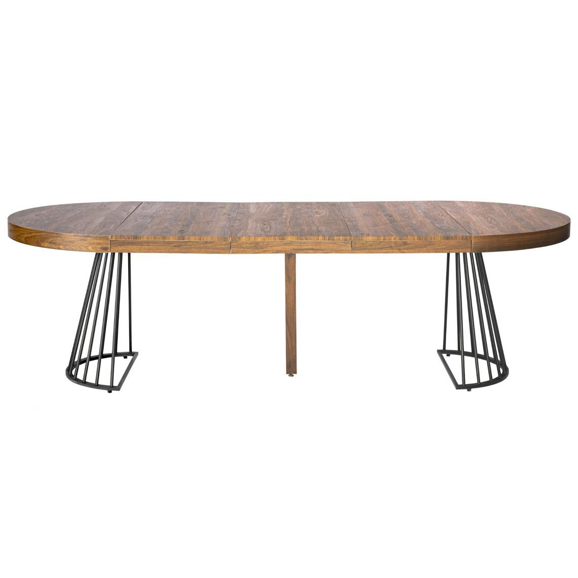 table ronde extensible grivery bois