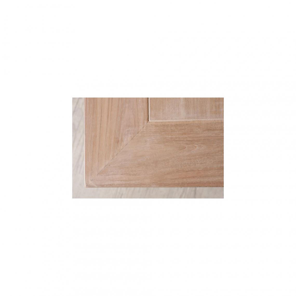 table basse carree double plateau 90 x