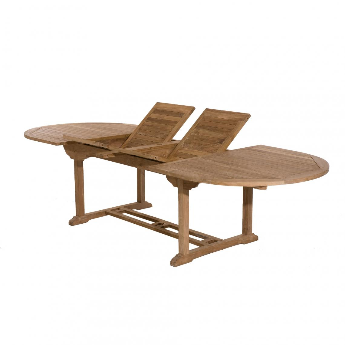 table de jardin 10 12 personnes ovale
