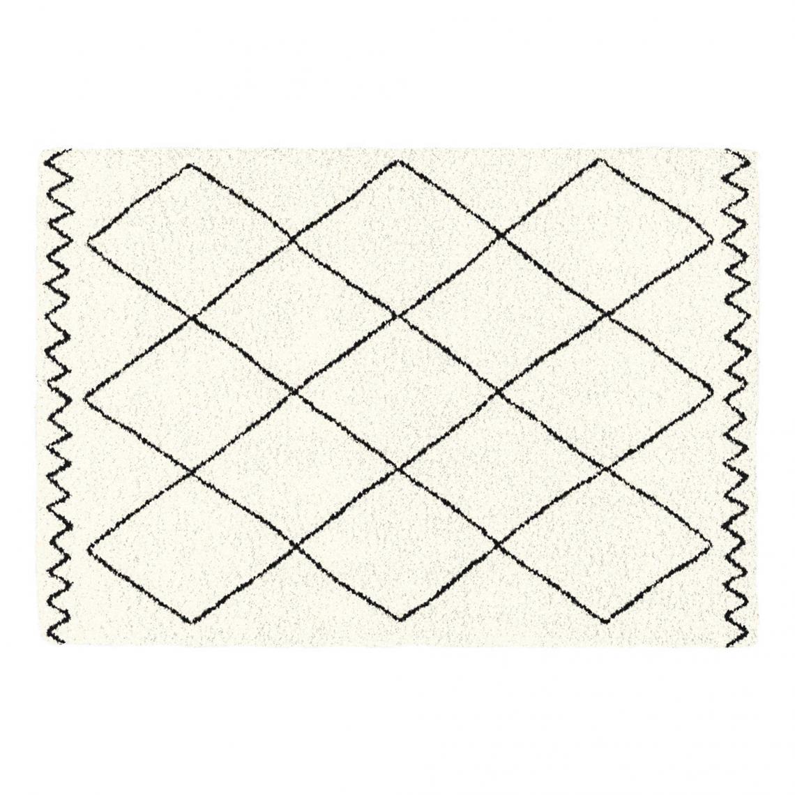 tapis rectangle 120 x 170 cm saoura beige
