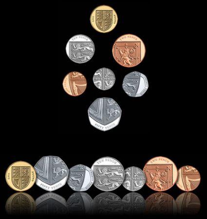 Nuovo Design per il Conio delle Monete Inglesi