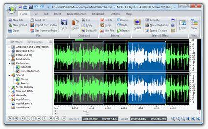 Audio editing professionale a costo zero con FAE 2010