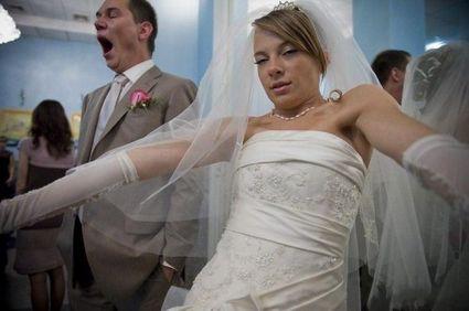 Foto di matrimonio davvero indecenti!