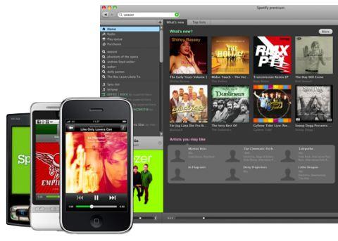 Spotify: Un aggiornamento che mette i brividi a iTunes