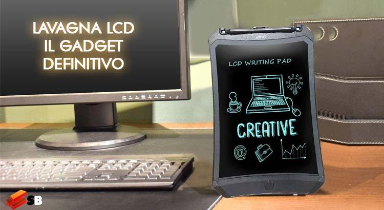 Lavagna LCD, il gadget definitivo per gli appunti quotidiani