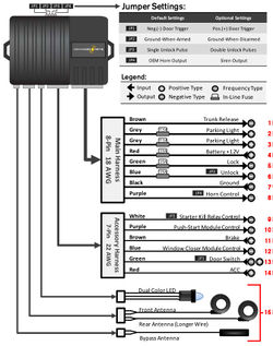 Electrical: Install Keyless Entry and Remote Shutdown  3000GTStealth Wiki