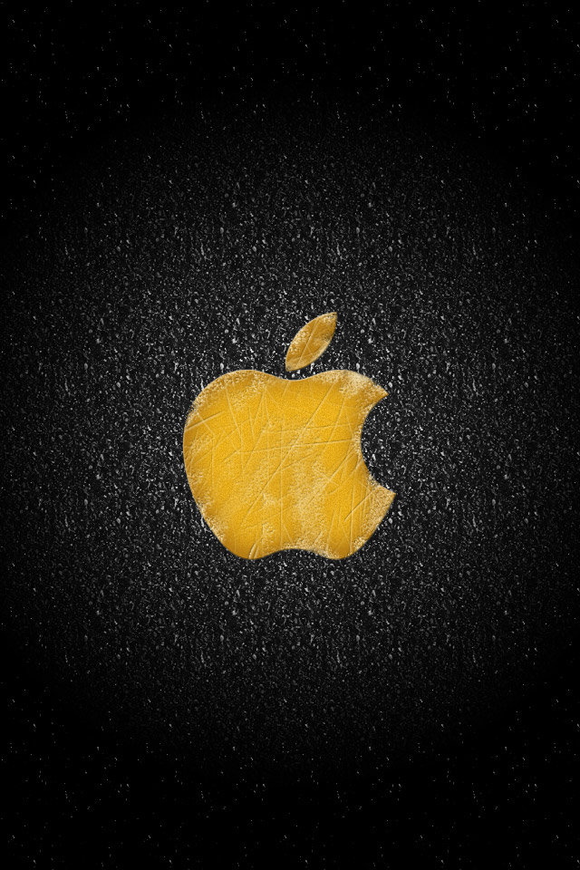 iPhone 4 Apple Logo Wallpapers Set 2 05 Apple on the road