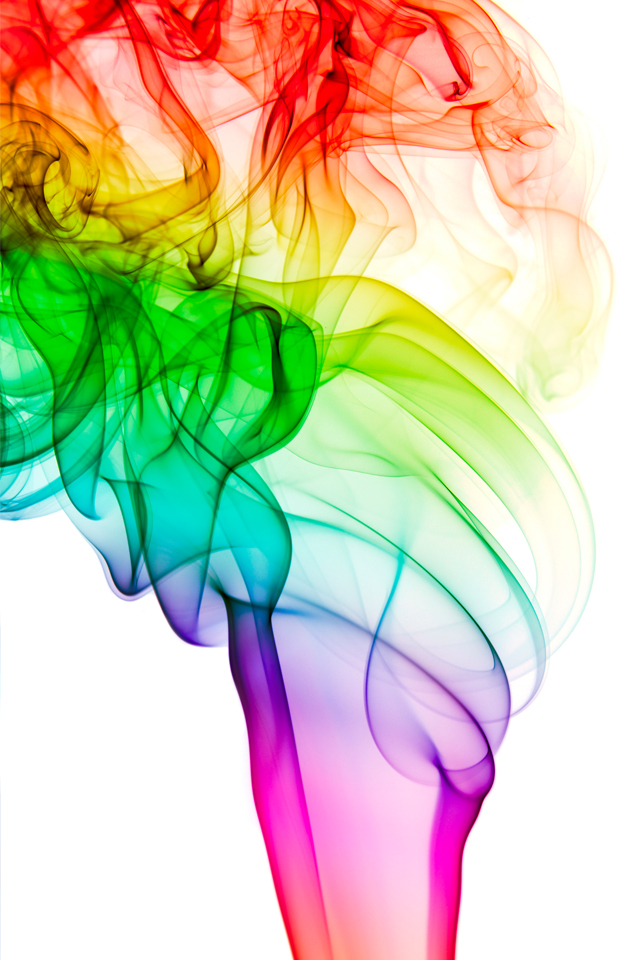 Smoke Rainbow 3Wallpapers Smoke Rainbow