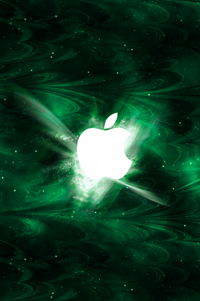 Green Smoked Apple 3Wallpapers Green Smoked Apple