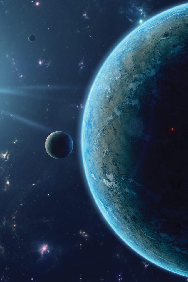 Planet in Space 3Wallpapers Planet in Space
