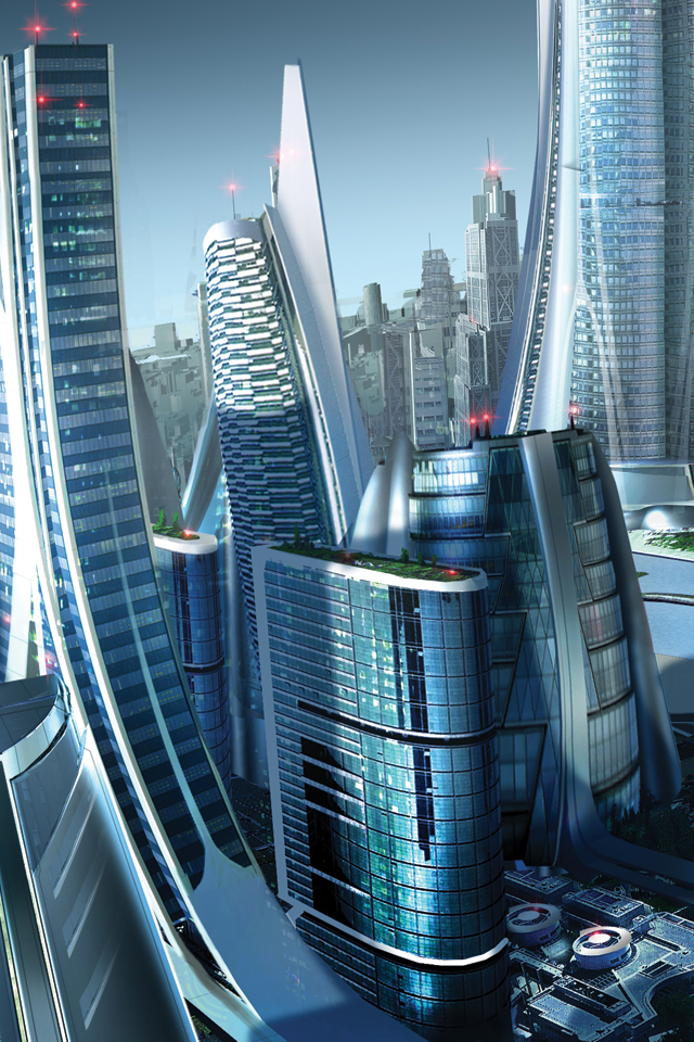 Future City by robertdbrown 3Wallpapers Future City by robertdbrown