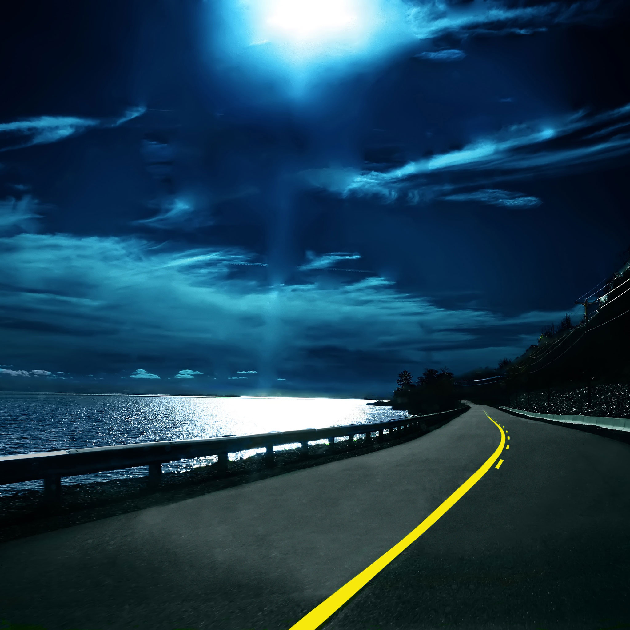 Highway Nights 3Wallpapers iPad Retina Highway Nights   iPad Retina