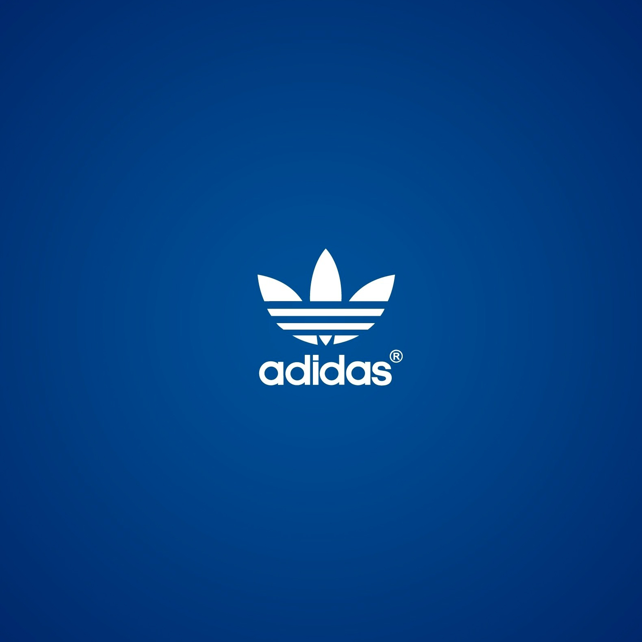 Adidas Blue 3Wallpapers iPad Retina Adidas Blue   iPad Retina