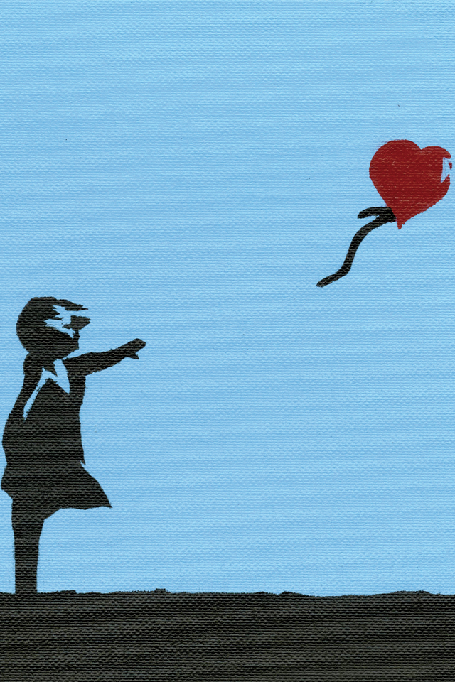 Banksy Girl of Hope 3Wallpapers Banksy   Girl of Hope