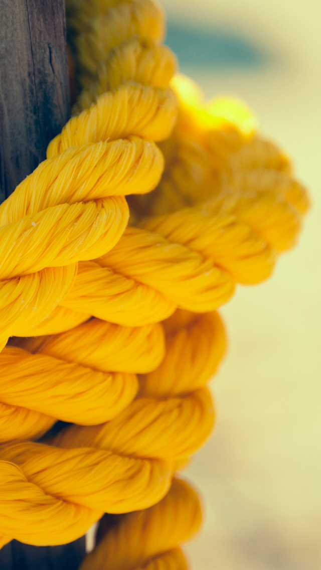 Yellow Rope 3Wallpapers iPhone 5 Yellow Rope
