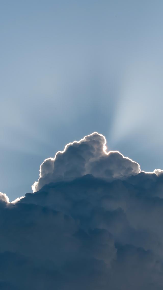 Cloud Lightining 3Wallpapers iPhone 5 Cloud Lightining