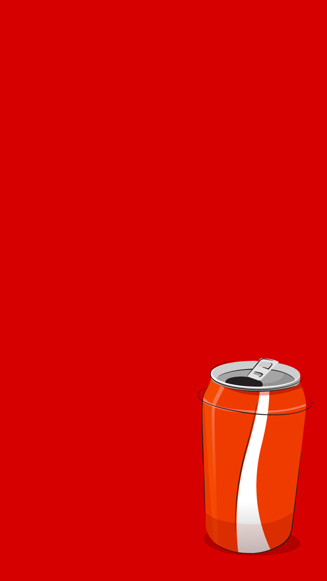 Coke Can 3Wallpapers iPhone 5 Coke Can