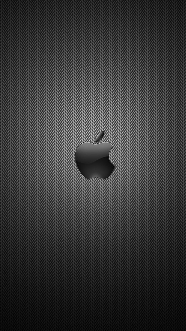 5s Quotes Wallpaper Dark Apple Logo Wallpaper For Iphone X 8 7 6 Free