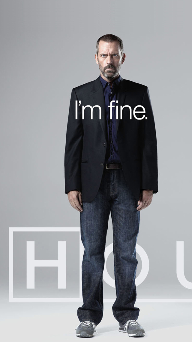 Dr House 3Wallpapers iPhone 5 Dr House