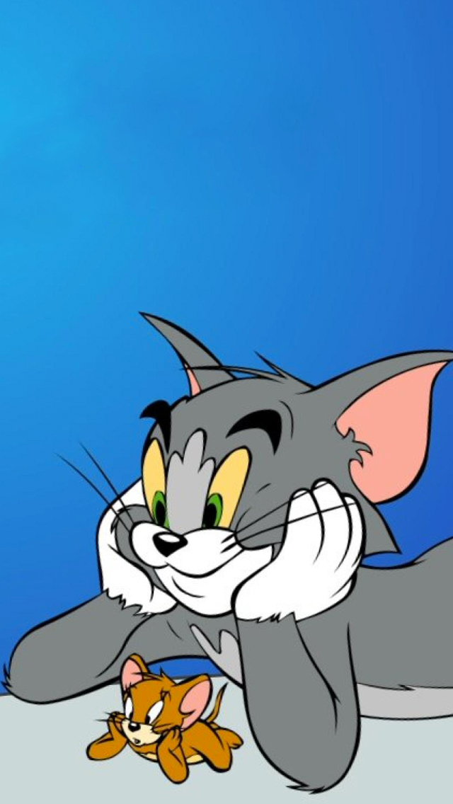 Tom Jerry 3Wallpapers iPhone 5 Tom & Jerry