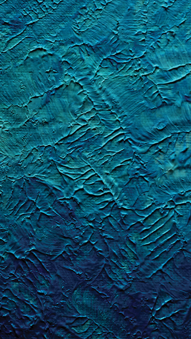 Blue Paint 3Wallpapers iPhone 5 Blue Paint