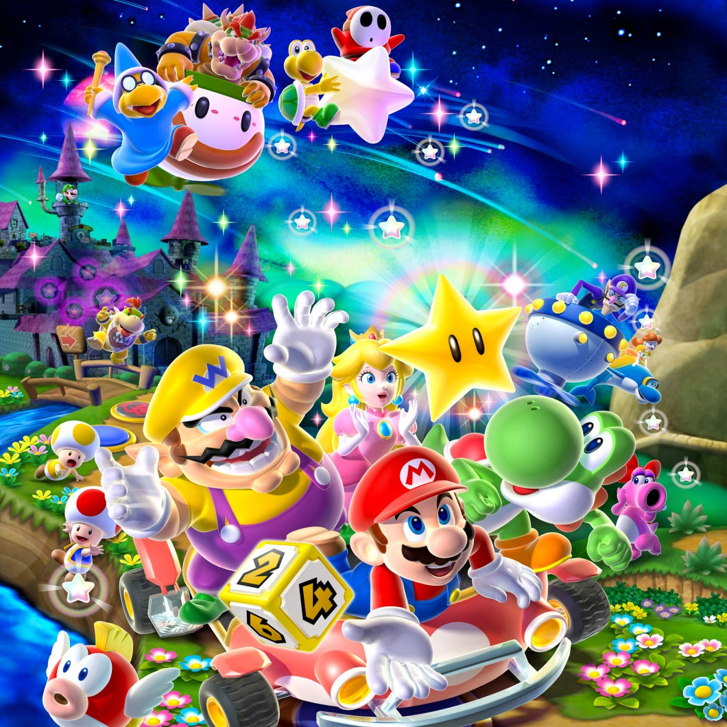 Mario And Friends Ipad Retina Wallpaper For Iphone X 8 7 6