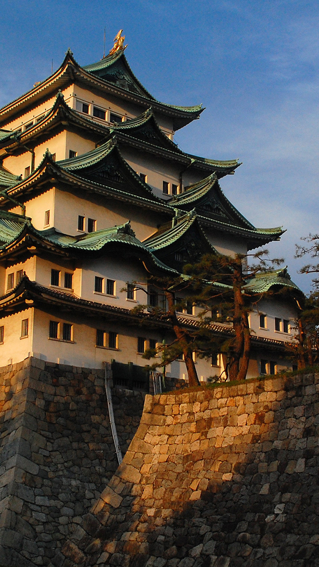Nagoya Castle 3Wallpapers iPhone 5 Nagoya Castle