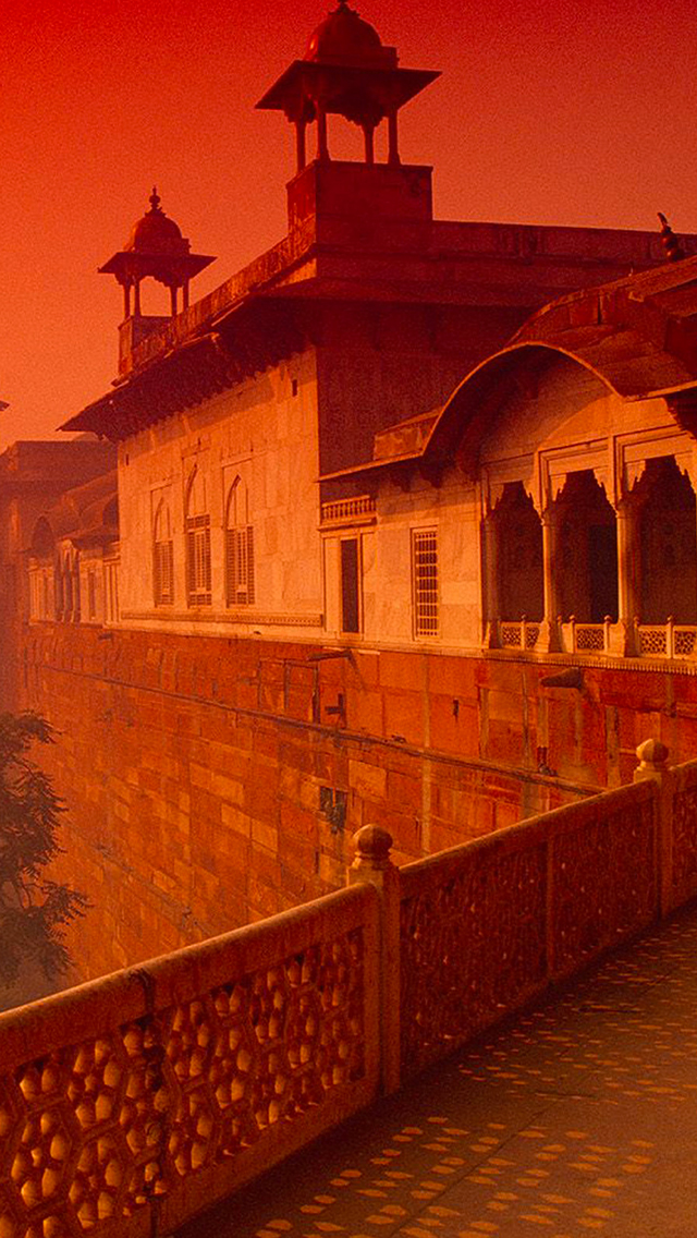 Agra Fort India 3Wallpapers iPhone Agra Fort India