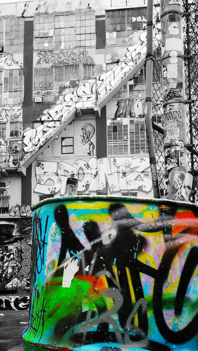 Iphone 4s White Wallpaper Street Art Wallpaper For Iphone X 8 7 6 Free Download