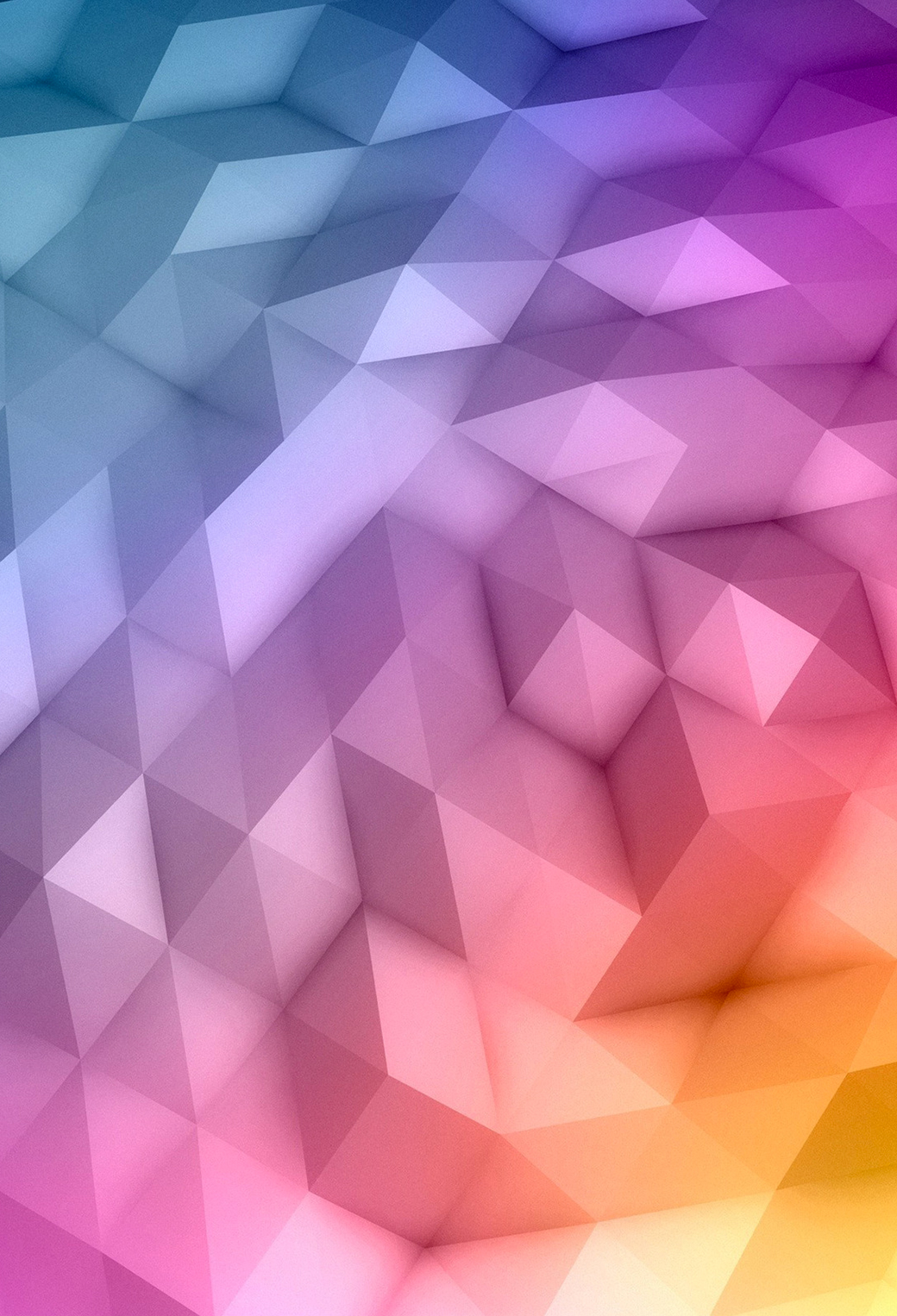 Gradient Polygons 3Wallpapers iPhone Parallax Gradient Polygons