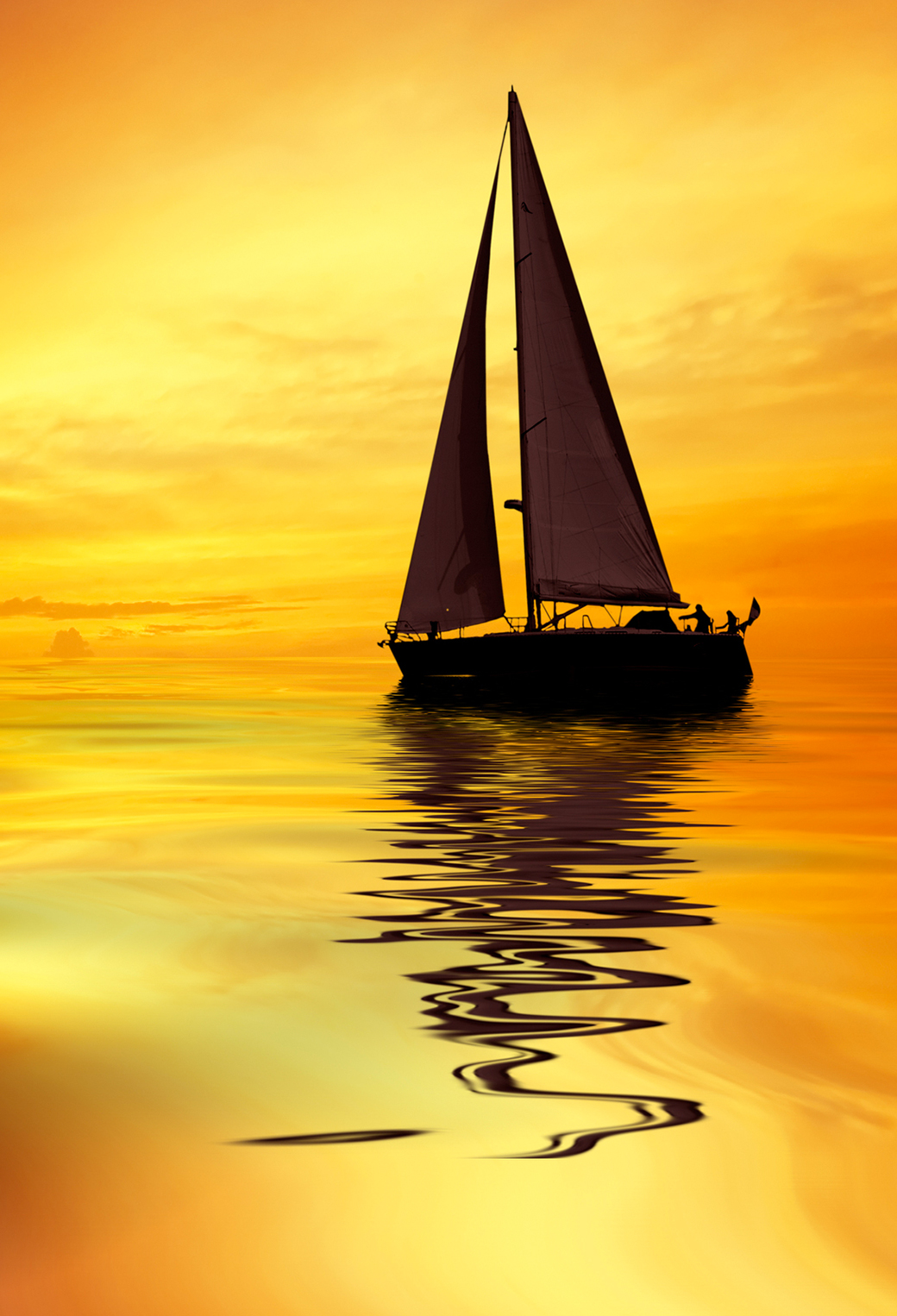 Sailboat Sunshine 3Wallpapers iPhone Parallax Sailboat Sunshine
