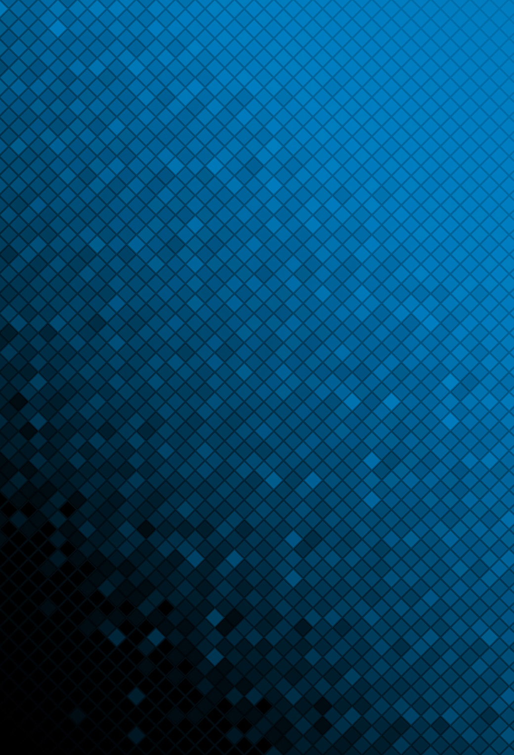 Blue Mosaic 3Wallpapers iphone Parallax Blue Mosaic