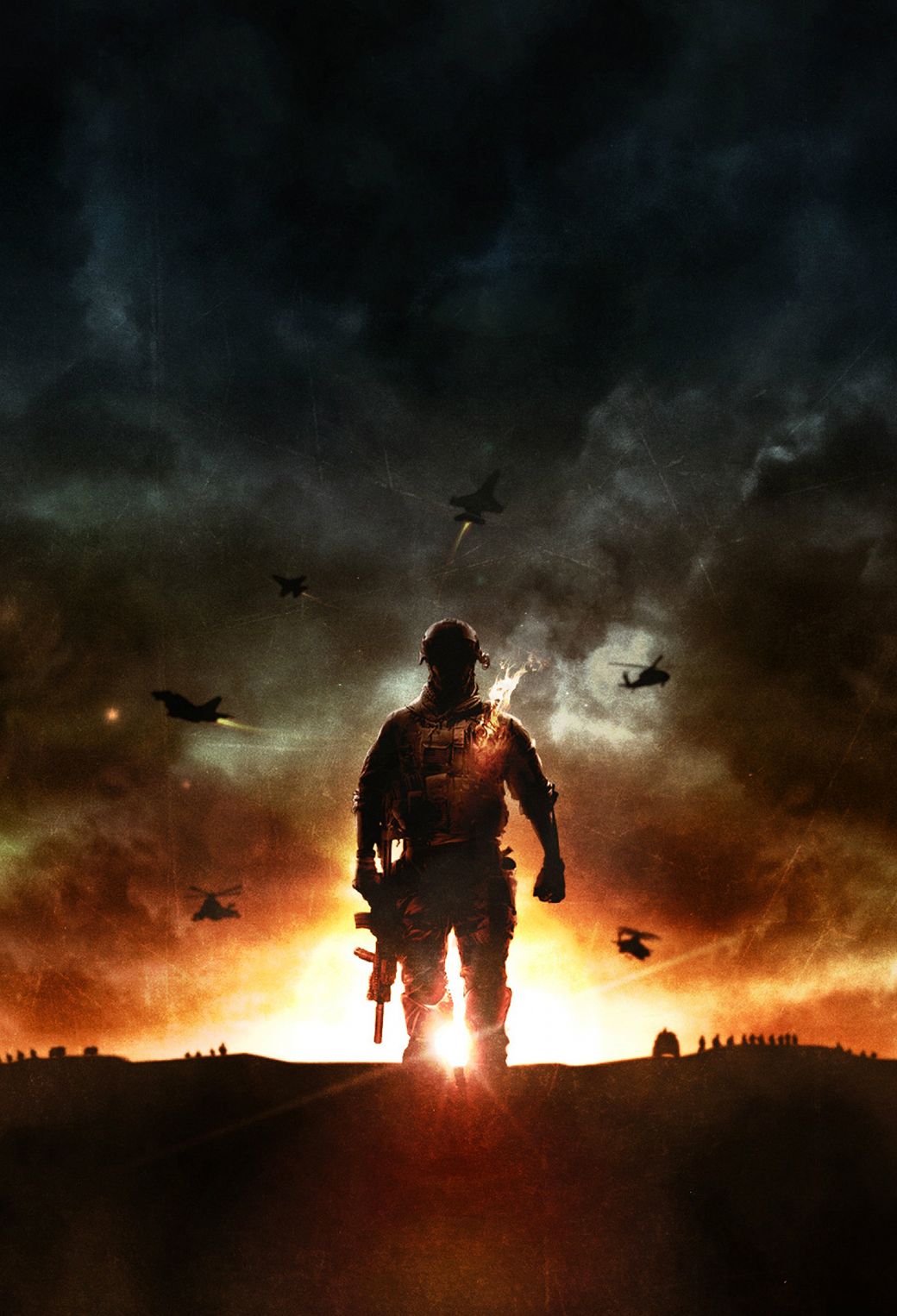 BattleField 3Wallpapers iphone Parallax BattleField